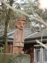"""Holzskulptur """"Der Glarner"""